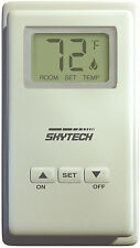 Skytech TS-3 Wired Wall Mounted Thermostat Fireplace Control