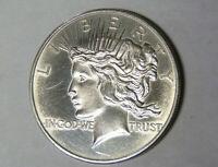 Peace Dollar Design Style 1 oz .999 Fine Silver Round (6720)