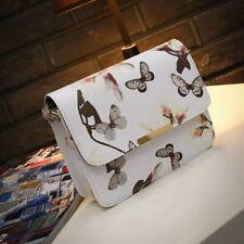 Women Floral Leather Shoulder Bag Satchel Handbag Retro Messenger Bag Famous New
