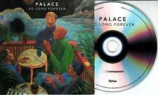 PALACE So Long Forever 2016 UK numbered 11-track promo CD