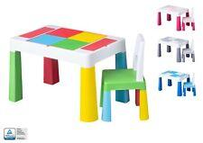 Kindertisch mit 2x Kinderstuhl Tega® Zuhause Ablagefach Fläche zum Malen Garten