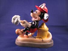 Royal Doulton Disney Showcase Mickeys Fire Brigade Pre Production Sample Casday