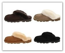 Womens Ugg Coquette Slipper Sheepskin Shoes Outdoor Slip On Shoes New UGG 5125