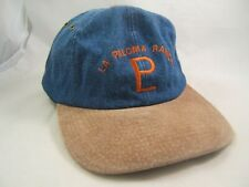 La Paloma Ranch Hat Denim Beige Strapback Baseball Cap