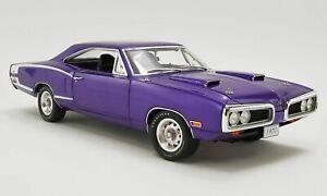 1:18 1970 Dodge Coronet Super Bee -- Plum Crazy -- GMP