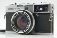 【Exc+5】Olympus 35 SP Rangefinder Film Camera G. Zuiko 42mm F/1.7 Lens from Japan