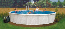 "18' x 52"" Above Ground Pool Complete Package > 20 Yr Warranty > Mystique"