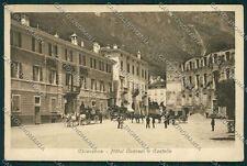 Sondrio Chiavenna PIEGHINE cartolina QQ7500