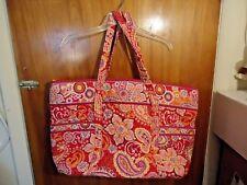 Womens Vintage ? Vera Bradley Large Multi Use Multi Color Floral / Geo Tote Bag