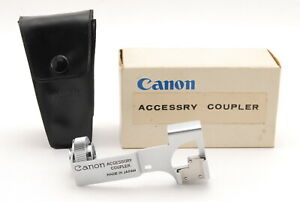 [MINT IN BOX] Canon Accessory Coupler for Canon 7 Film Camera w/ Case From JAPAN