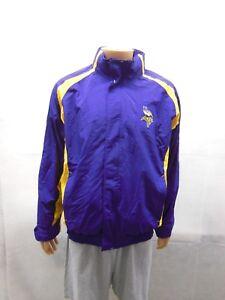 Minnesota Vikings Reebok hooded jacket Mens L super warm
