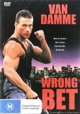 WRONG BET - VAN DAMME HARD CORE ACTION - NEW DVD