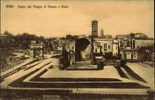 Rom Roma Italien Italy ~1910 Avanzi del Tempio di Venere Ruinen Tempel der Venus