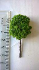 Lot F 10 arbres vert  decors 6 cm