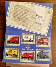 "Matchbox Post Office Vehicles Of The World 6 Classic Diecast Trucks 3"" Each 1995"