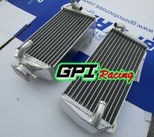 R&L aluminum radiator Suzuki RMZ 450 RMZ450 2008-2015 2009 2010 2011 2012 2013