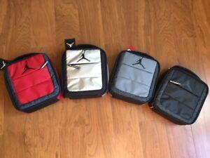 NIKE AIR JORDAN JUMPMAN LUNCH BOX BAG Silver, Grey or Red