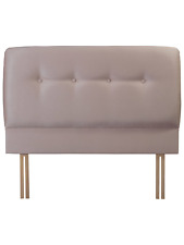Brand new Vi Spring Aura Headboard 4ft6 Double 135cm in Champagne Suede