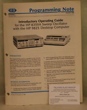 HP8350A Sweep Oscillator Programming Note