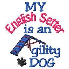 My English Setter is An Agility Dog Fleece Jacket - Dc1930L Size S - Xxl