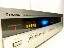 PIONEER tx-d1000 FM/AM Stereo Tuner-VHF, MW-Blue Display, Flagship, high end