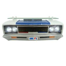 1970 AMC Rebel Machine Front End Grille Wall Shelf Working LED Headlights