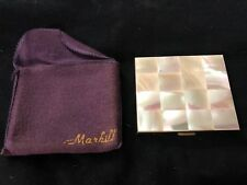 New listing Vintage Marhill Mother Of Pearl Compact In Excellent Condition