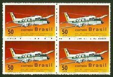 BRAZIL SC# 1143-1969 Year of National Aviation Industry - EMBRAER -RHM C-656 MNH