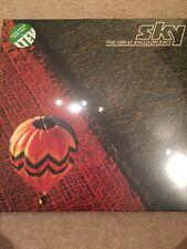 SKY - THE GREAT BALLOOM RACE LTD REPRESS ON CLEAR VINYL LP  NEW GATEFOLD SLEEVE