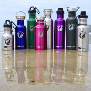 ECOtanka High Quality, Reusable Steel Water Drinks Bottles Wide-Mouthed