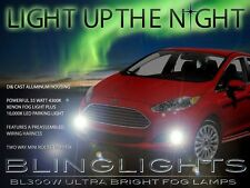 2014 2015 Ford Fiesta Xenon Halogen Fog Lamps Driving Light Kit + Harness Switch