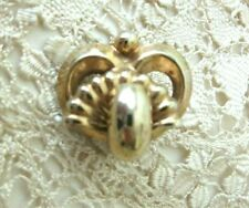 Vintage Small Gold Tone Victorian Style Brooch