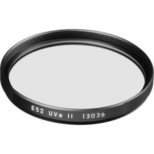 Genuine Leica M UV Filter UVa II E52 Black #13036