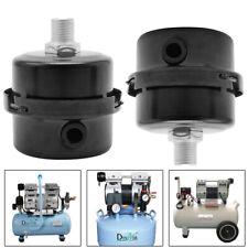 New Listing14 Thread Metal Air Compressor Intake Filter Noise Muffler Silencer125mm Us