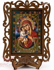 Virgin Mary Jesus Our Lady Жировицкая икона Божией Матери Orthodox Icon Wood