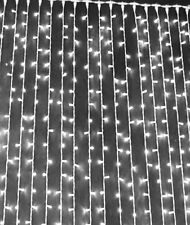 Lichtervorhang 2 x h3 M, 600 LED, koppelbar kaltweiß