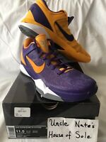 Nike Kobe Zoom VlI 7 2012 'Lakers Yin Yang', Size 11.5, DS