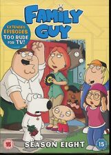 Family Guy - Series 8 - Complete (DVD, 2009, 3-Disc Set) NEW SEALED