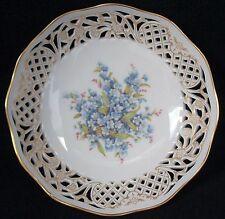 "Schumann Arzberg W-Germany Kunstgewerbe Pierced Edged Bowl 7 1/2"""