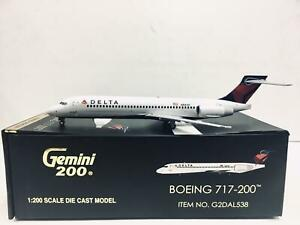 Gemini Jets 1:200 DELTA BOEING 717-200 N891AT G2DAL538