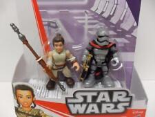 Star Wars Galaxy Heroes Rey (Jakku) & Capitaine Phasma Playskool Disney