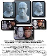 Terminator GENYSIS Laser Life size Bust 1:1 Arnold Schwarzenegger custom