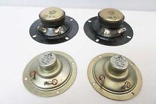 """4x Vintage Tweeters 2"""" - Suit replacement Pioneer National Akai etc Speaker Era"""
