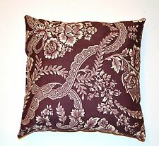 Handmade Home Decorating Violet Floral Decorative Pillow
