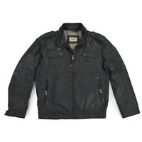 CAMEL ACTIVE Herren Jacke Gr.50 Übergangsjacke Men jacket schwarz wie NEU