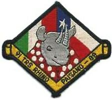 Usaf 91st Tactical Reconnaissance Squadron Exercise Salty Bee 1988 Patch Sticker