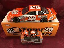 TONY STEWART #20 Home Depot 1999 RCCA 1/24 CW Bank & 1/64 HO Car Diecast  SET