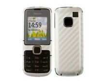 Skinomi Carbon Fiber Full Body + Screen Protector Film for Nokia C1-01