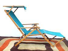 "Reguitti Brescia Italy long chair ""Capri"" design years 50"