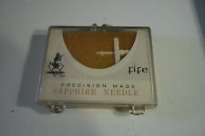 Vintage FIFE Precision Made .7 MIL Sapphire 1355 Stereo Replacement Needle